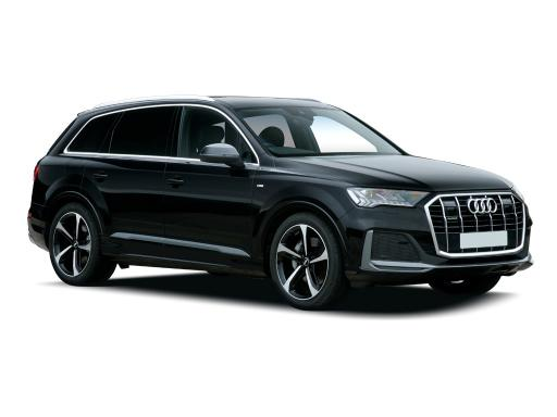 Audi Q7 Estate 55 TFSI e Quattro Black Edition 5dr Auto [GL]-ex-fleet-car-for-sale