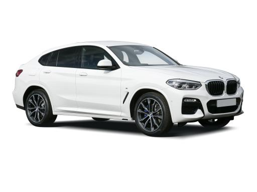 BMW X4 Estate xDrive 20d MHT M Sport Step (Plus Pack) 5dr Auto [GL]-ex-fleet-car-for-sale